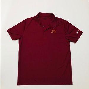 Nike University of Minnesota Polo Golf shirt